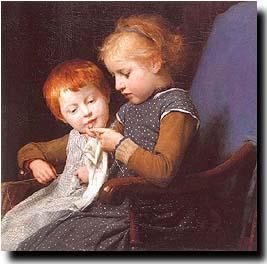 artist: Albert Anker (1831-1910)