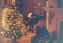 and yes, i do play *silent night* on the piano!