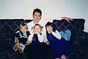 Pappa John with his little women ... :-)