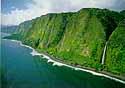 North Kohala coastline on the island of Hawaii