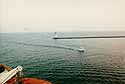 entering Mazatlan's harbor
