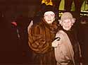 christmas 2002 - mutti and i in the city