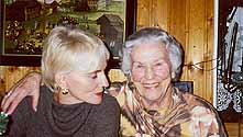 christmas day 2002 at my brothers - mutti and i