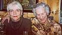 christmas 2002 - mutti and i at my brother's home