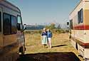 Wyoming - meeting Fred's mother Patsy in their own RV