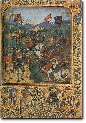 The Battle of Agincourt,15th century