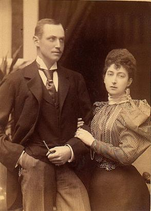 Young King Haakon VII Of Norway 1872 1957 And His Spouse Queen Maud 1869 1938