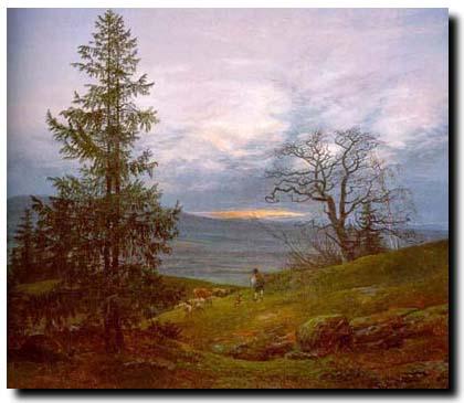 artist: Johan Christian Dahl (1788-1857)