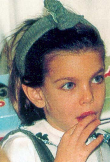 Charlotte Casiraghi *1987 childhood photos - part II-