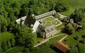 Castle Maxlrain (built 1582-1585) by Bad-Aibling, Upper Bavaria, Germany