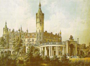 Castle Schwerin 1869